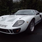 Ford GT40 on the Classic Car Tour