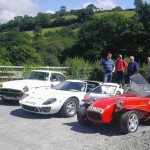 MGBGT, Ford GT40 & Locost on the Classic Car Tour