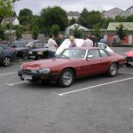 Jaguar XJS on the Classic Car Tour