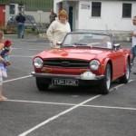 Triumph TR6 on the Classic Car Tour